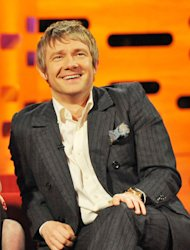 Martin Freeman wants to protect his family from the glare of fame