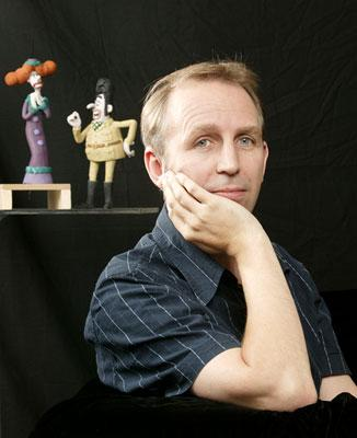 Steve Box , writer and director of DreamWorks Animation's Wallace & Gromit: The Curse of the Were-Rabbit