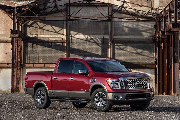 Nissan's Redesigned 2017 Titan Half-Ton Pickup to Reach Showrooms this Summer