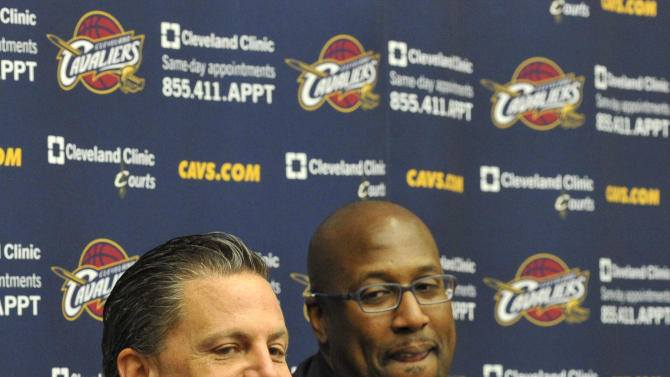 NBA: Cleveland Cavaliers-Mike Brown Press Conference