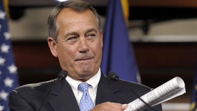 Boehner: ObamaCare on table for fiscal cliff negotiations