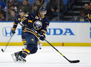 Matt Moulson returns to the Sabres with a $25 million contract after finishing off last season with the Wild. (USA Today)