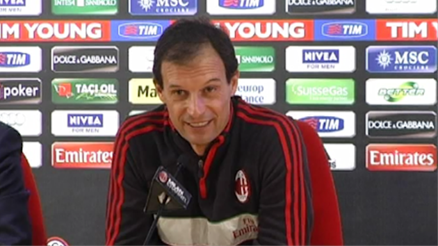 Massimiliano Allegri, Milan