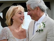 Irene Rios-Knauf and David Knauf postponed their wedding reception by several weeks due to Hurricane Irene.