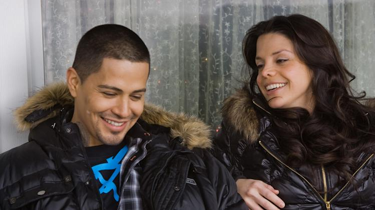 Jay Hernandez Vanessa Ferlito Nothing Like the Holidays Production Stills Overture 2008
