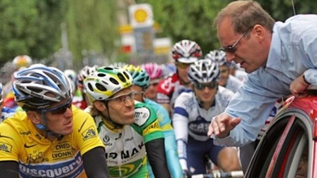 CYCLING 2008 Tour de France Armstrong Prudhomme