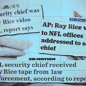 NFL security chief denies receiving Ray Rice video