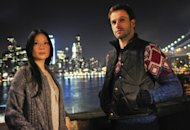 Jonny Lee Miller (right) stars as Sherlock Holmes and Lucy Liu (left) stars as Watson on CBS' 'Elementary' -- CBS