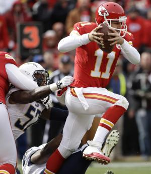 Chiefs' Smith finally letting loose on offense