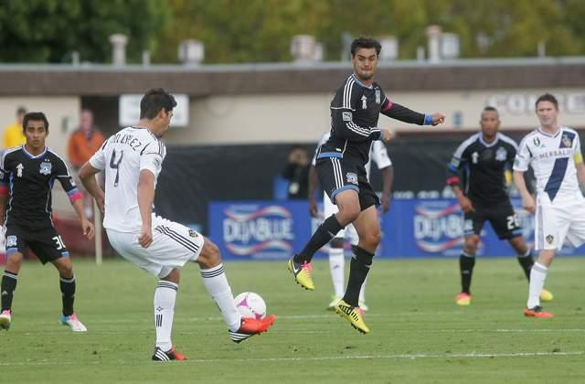 San Jose Earthquakes 2-2 LA Galaxy: Wondolowski one goal from league record