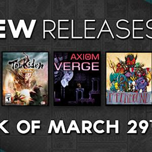MLB 15 The Show VS. R.B.I. Baseball 15!  Axiom Verge & Toukiden: Kiwami - New Releases