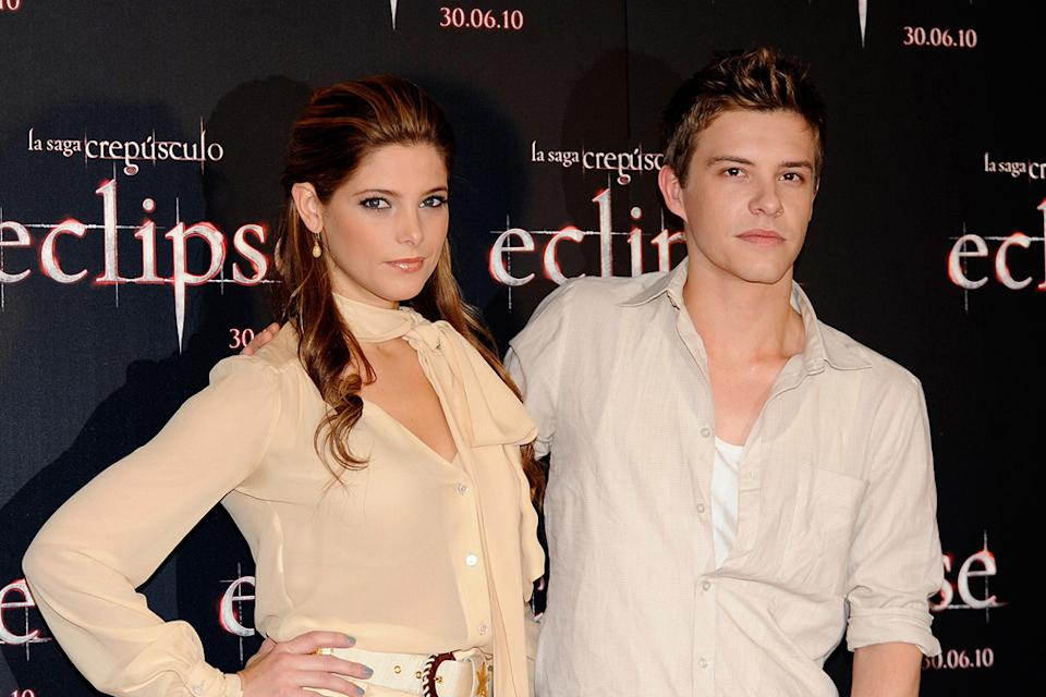 The Twilight Saga Eclipse International Press Events 2010 Ashley Greene Xavier Samuel