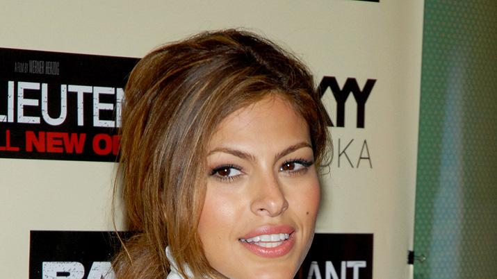 Bad Lieutenant Port of Call New Orleans NY Screening 2009 Eva Mendes