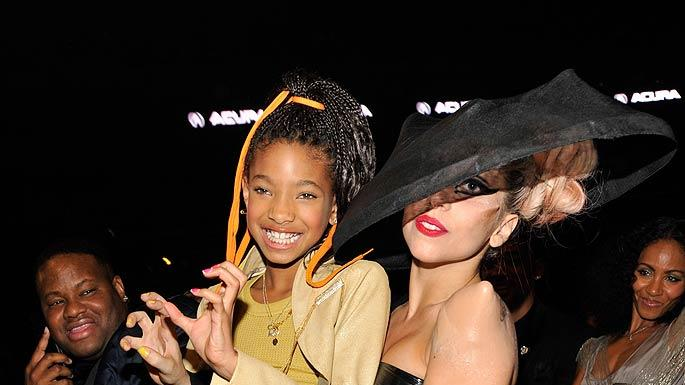 Willow Smith Lady Gaga Grammy Aw