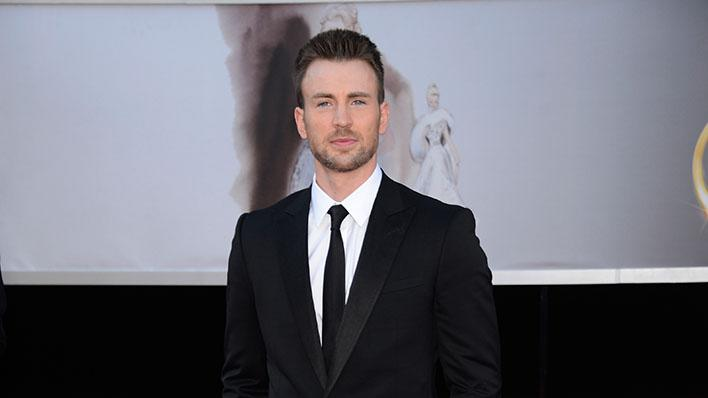 85th Annual Academy Awards - People Magazine Arrivals: Chris Evans