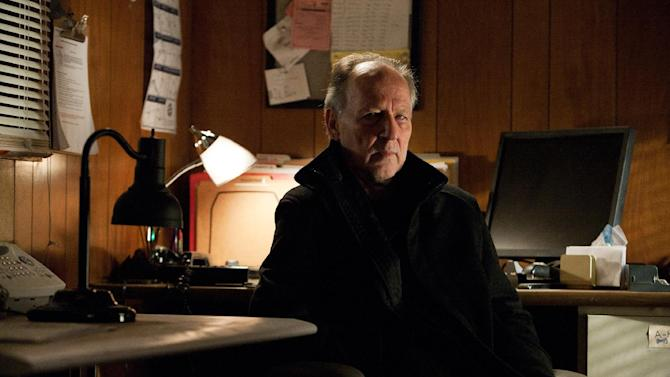"""This undated publicity photo released by Paramount Pictures shows Werner Herzog as The Zec in the film, """"Jack Reacher."""" (AP Photo/Paramount Pictures, Karen Ballard)"""