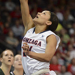 WCC One-On-One: Gonzaga's Jazmine Redmon