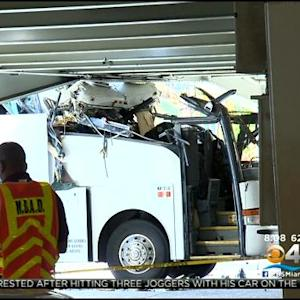 Bus Driver Charged In Deadly Airport Crash