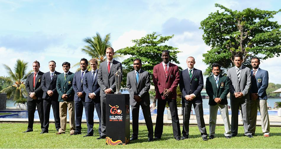 ICC World Twenty20 - Captains Portraits