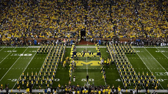NCAA Football: Notre Dame at Michigan