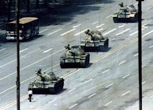 Historic photos of the Tiananmen Square protest