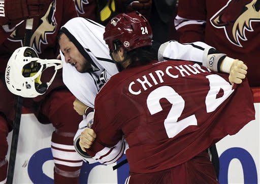 Kings earn first victory, 4-2 over Coyotes