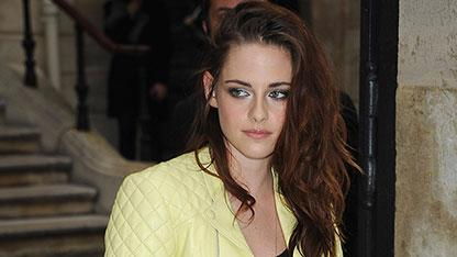K Stew's Bold Outfit at Balenciaga's Paris Show