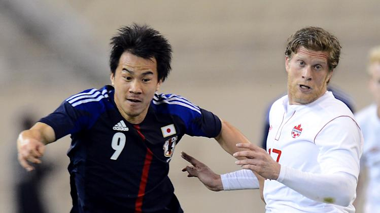SOCCER: Canada vs Japan
