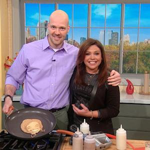 A Rachael Ray Pancake?! Now This You've Gotta See!