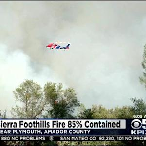 Yosemite Wildfire Threatens Giant Sequoia Trees; Sand Fire 85% Contained