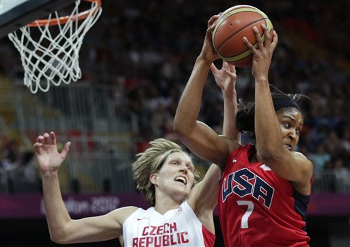 US women beat Czechs 88-61 in Olympic basketball