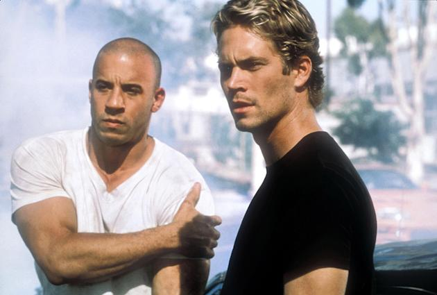 The Fast and the Furious 2001 Production Stills Universal Pictures Paul Walker Vin Diesel