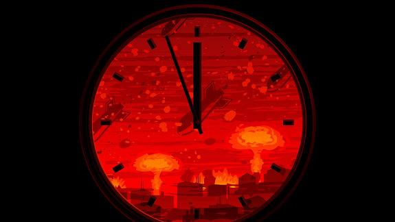 End Near? Doomsday Clock Holds at 5 'Til Midnight