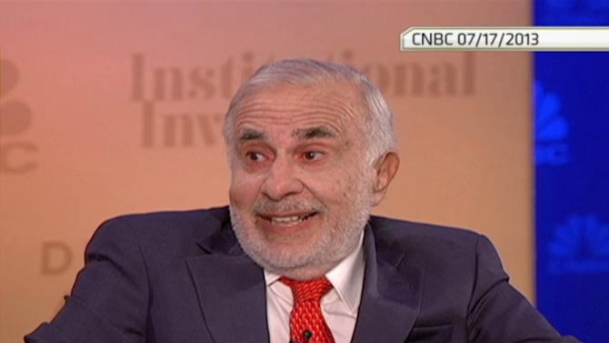 """Icahn: """"I haven't sold one share of Netflix"""""""