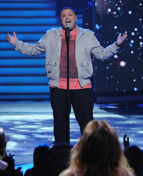 "Jeremy Rosado performs ""Gravity"" by Sara Bareilles on ""American Idol."""