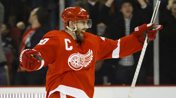 NHL: Dallas Stars at Detroit Red Wings