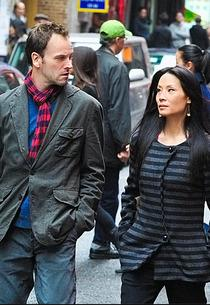 Jonny Lee Miller, Lucy Liu | Photo Credits: Jojo Whilden/CBS
