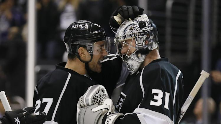 LA Kings rookie G Martin Jones off to record start