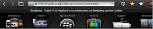 Simple Browsing Shortcuts and Tips for the Blackberry Playbook