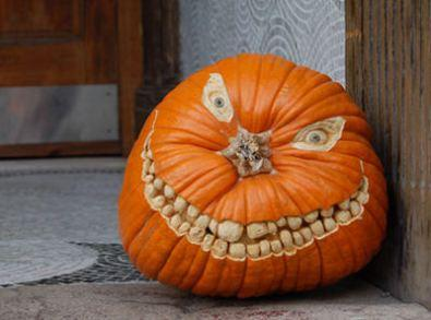 Scary Toothy Pumpkin