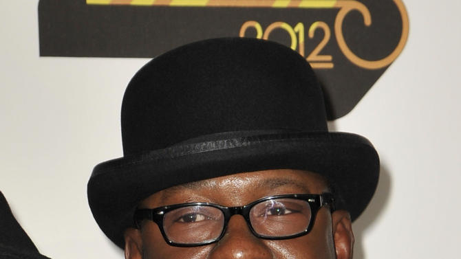 FILE - In this Thursday, Nov. 8, 2012 file photo, singer Bobby Brown, arrives at the Soul Train Awards at Planet Hollywood Resort and Casino in Las Vegas. A lawyer for Brown entered not guilty plea Friday, Nov. 16, 2012, to  charges that the R&B singer was driving under the influence and driving on a suspended license when he was arrested in October. (Photo by Jeff Bottari/Invision/AP, File)