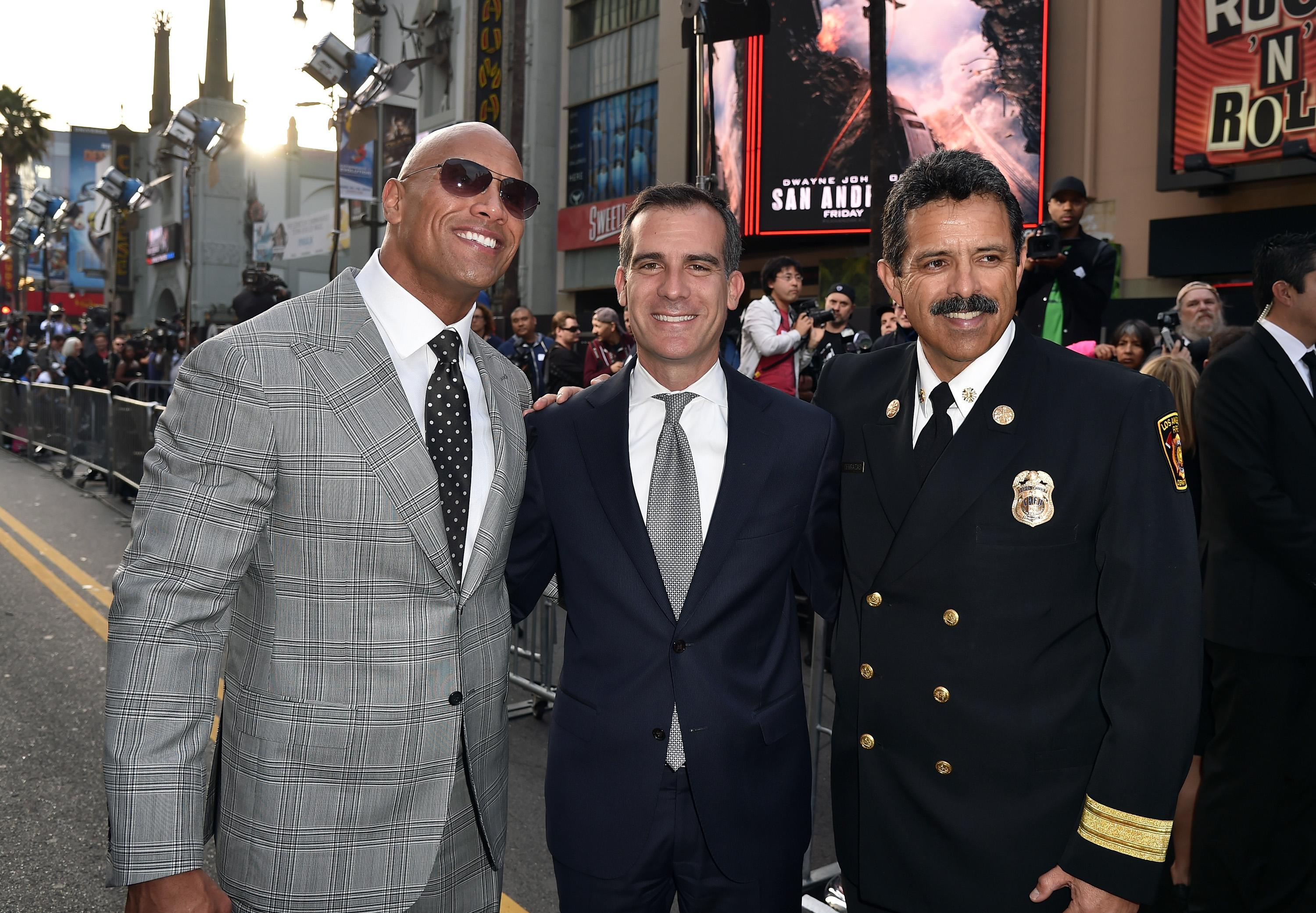 'San Andreas:' Mayor Eric Garcetti Hopes Movie Gets L.A. to Prepare
