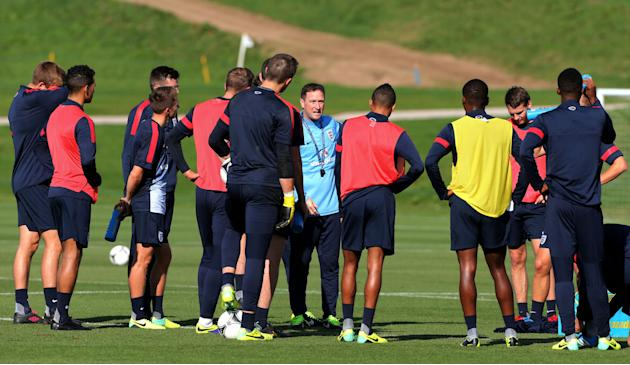 Soccer - UEFA Euro Under 21 Qualifying - Group 1 - San Marino v England - England media activity - St George's Park