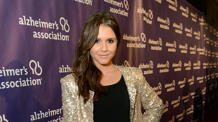 Actress Alexandra Chando arrives at the 21st Annual 'A Night at Sardi's' to benefit the Alzheimer's Association at the Beverly Hilton Hotel on Wednesday, March 20, 2013 in Beverly Hills, Calif. (Photo by Jordan Strauss/Invision for Alzheimer's Association/AP Images)