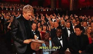 Ellen, Lupti, and the world's most infamous lip balm