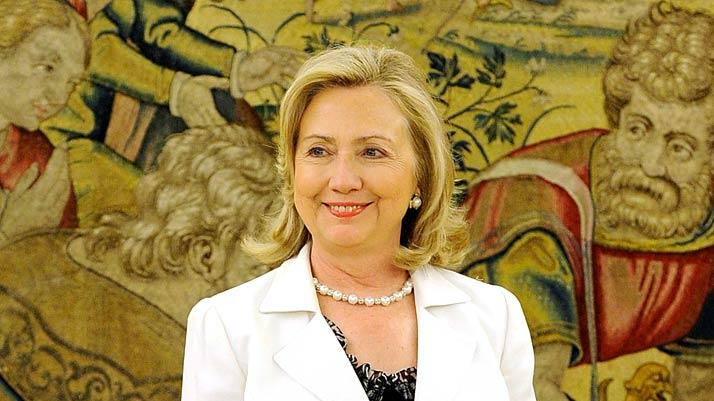 Hilary Clinton Zarzuela Palace