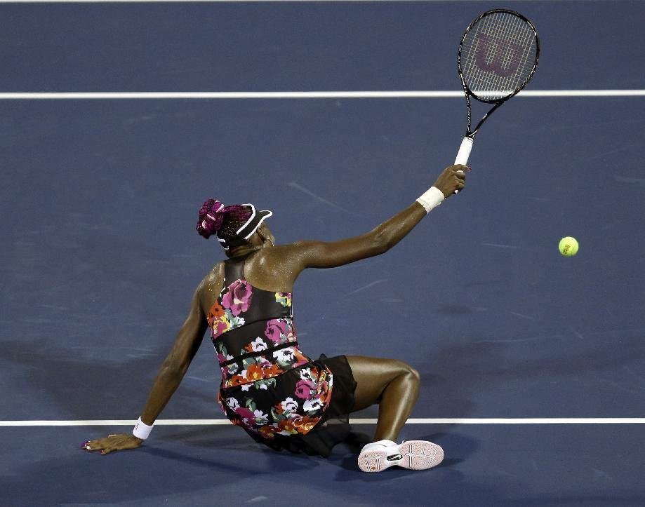 Venus Williams loses in 2nd round at US Open