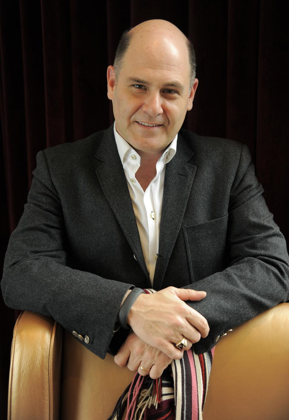 "Matthew Weiner, writer/director of ""You Are Here,"" poses for a portrait on day 3 of the 2013 Toronto International Film Festival on Saturday, Sept. 7, 2013 in Toronto. (Photo by Chris Pizzello/Invision/AP)"