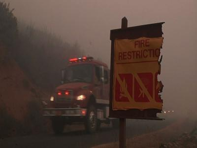 Yosemite Fire Is Challenging Fire Crews