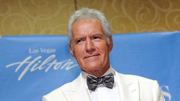 Alex Trebek poses in the press room at the 38th Annual Daytime Entertainment Emmy Awards held at the Las Vegas Hilton in Las Vegas on June 19, 2011  -- Getty Images